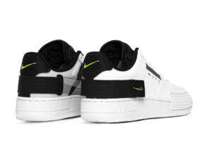 Nike Air Force 1 Type Low N. 354 черно-белые (40-44)