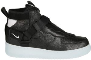 Nike Air Force 1 Utility Mid чёрные (40-44)