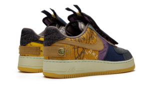 Nike Air Force x Travis Scott Кактус Джек разноцветные (40-45)