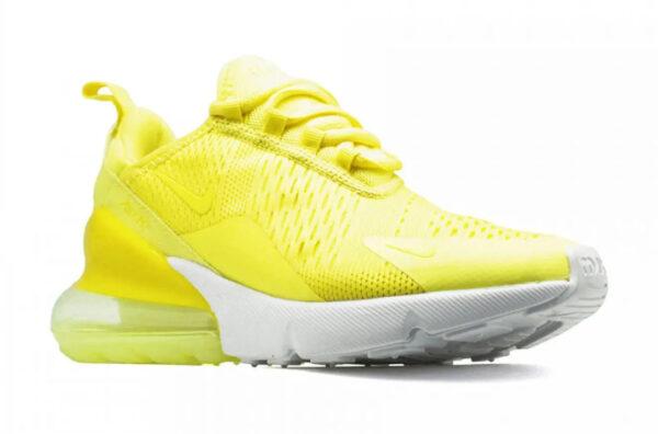 Nike Air Max 270 жёлтые мужские-женские (35-44)