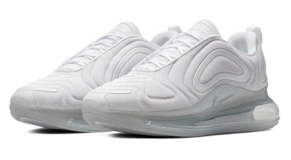 Nike Air Max 720 белые женские (35-39)