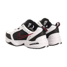 Nike Air Monarch черно-белые с красным (40-44)