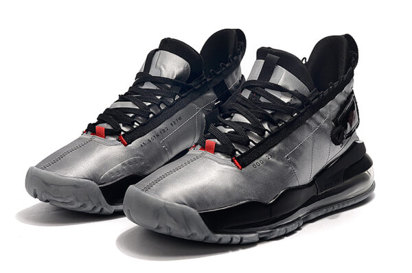 Nike Jordan Proto-Max 720 серебряно-черные мужские (40-44)