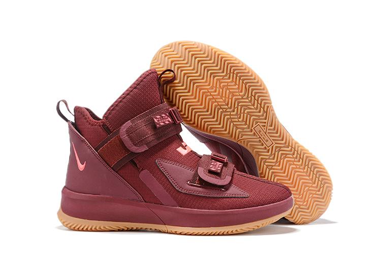 Nike LeBron Soldier 13 бордовые (40-45)