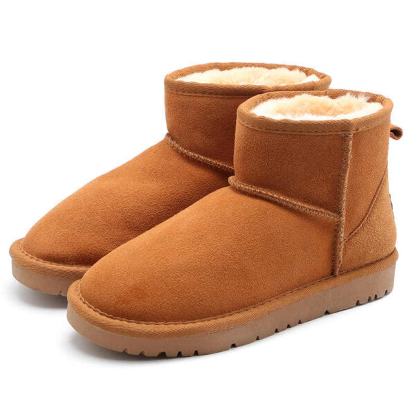 Зимние Ботинки UGG Bailey Mini с мехом коричневые (35-40)