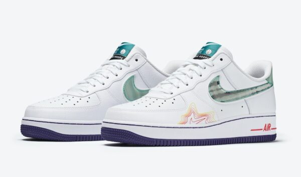 Nike Air Force 1 Music DeAaron белые (40-44)