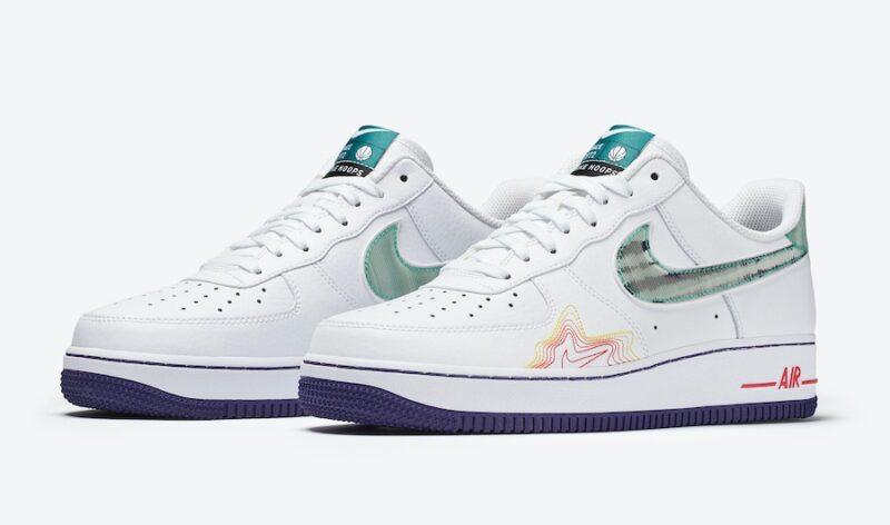 Nike Air Force 1 Music DeAaron белые (40-44)