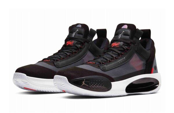 Nike Air Jordan 34 черно-красные мужские (40-45)