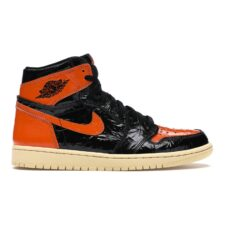 Nike Jordan 1 Shattered Backboard 1.0 черно-оранжевые (35-45)