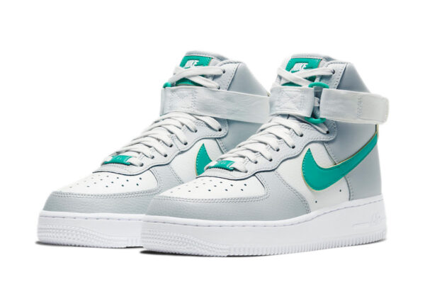 Nike Air Force 1 High 07 серо-белые (40-44)