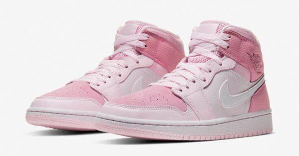 Nike Air Jordan 1 Retro розовые (35-39)