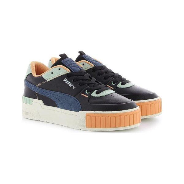Puma Cali Sport Mix WN'S черно-сине-голубые 35-39