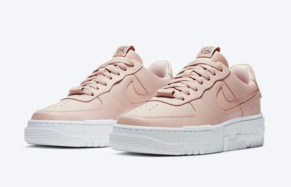 Nike Air Force 1 Low Pixel Triple бежевые (35-39)