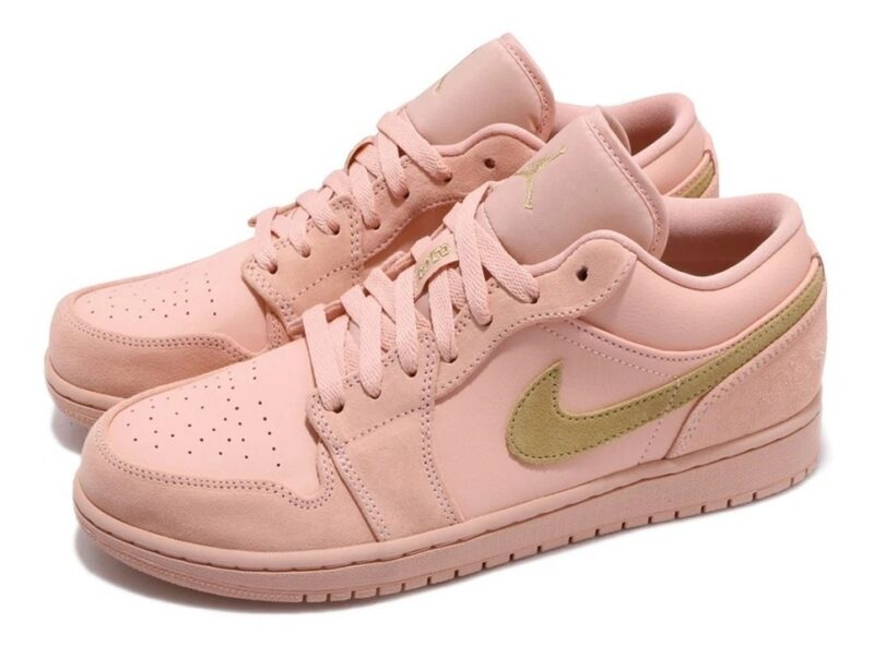 Nike Air Jordan 1 Low Coral Gold коралловые (35-39)