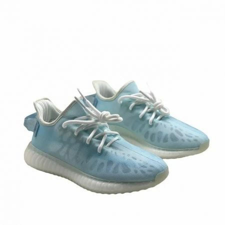 Adidas Yeezy Boost 350 V2 Mono Ice голубые женские (35-39)